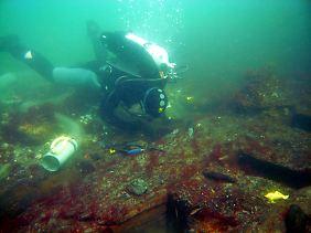 Schiffswracks am Meeresboden beeindrucken Forscher wie Hobbytaucher gleichermaßen.
