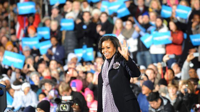 Die Stimme seiner Frau hat Obama sicher.
