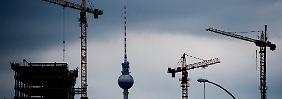 In Berlin ziehen die Preise für Immobilien kräftig an.