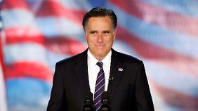 Romney räumte seine Niederlage nach ungewöhnlich langem Zögern ein.