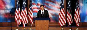 """Romney gesteht Niederlage ein: """"Kein Platz für politisches Gezänk"""""""