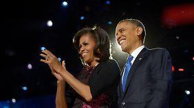 """Obama punktet mit Rede: """"Michelle, ich habe dich nie mehr geliebt"""""""