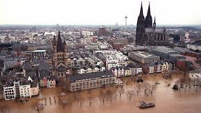 n-tv 1993: Kölner Altstadt säuft ab