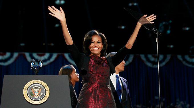 Es war auch die Siegernacht der Michelle Obama.
