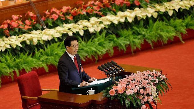 Sag es durch die Blume? Hu Jintao bevorzugt den direkten Weg: Höhere Einkommen für alle Chinesen.
