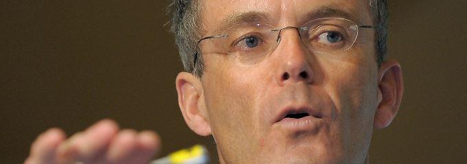 Hat jetzt schon mehr gespart als für 2012 geplant: Bernd Scheifele (Archivbild).