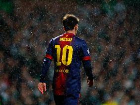 Ein Tor war nicht genug: Lionel Messi.
