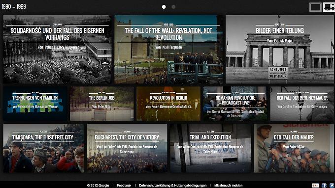 Das Google Culture Institute bündelt Online-Ausstellungen aus Deutschland, Polen und Rumänien.