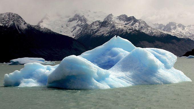 """""""Die Bedrohung des Klimawandels ist real"""", betont Ban. (abgebrochenes Gletscherstück vor der Küste Südamerikas)"""
