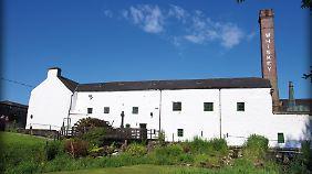 Ein Teil der Kilbeggan Distillery, die heute zu Cooley gehört.