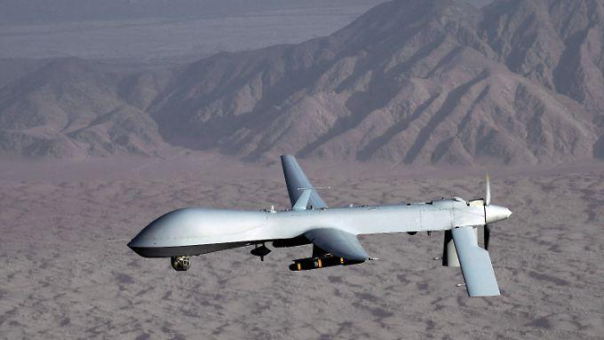 Predator-Drohne am Himmel (Archivbild)