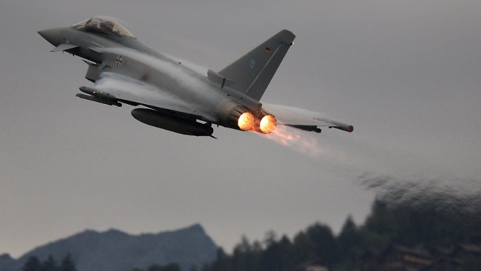 Ein Eurofighter von EADS.