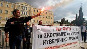 Kluft zwischen Arm und Reich: Griechenlands Krise verschärft sich