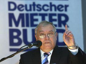 """""""Massive Probleme, eine bezahlbare Wohnung zu finden"""": Franz-Georg Rips gibt die Themen für den Bundestagswahlkampf vor."""