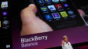 Das Blackberry bekommt einen Touchscreen - reichlich spät allerdings.