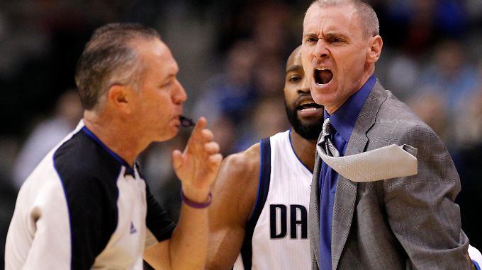 Verlieren macht schlechte Laune: Mavericks-Trainer Rick Carlisle.