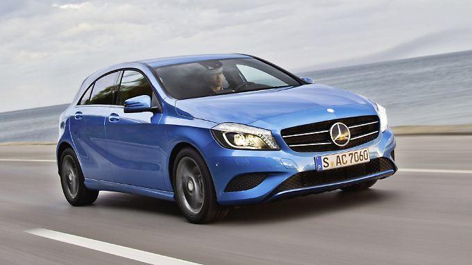 Mercedes hat seine A-Klasse zuletzt massiv beworben.