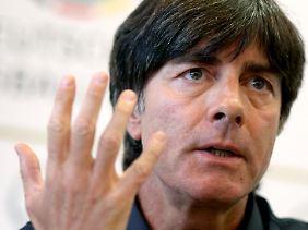 Selbstkritisch zum Jahresausklang: Bundestrainer Joachim Löw.