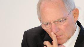 """Athen braucht neues Geld: Schäuble drängt auf """"verlässlichen Mechanismus"""""""