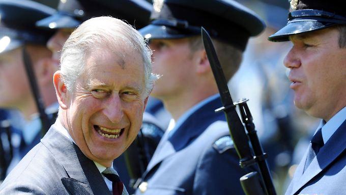 """Erhielt den ganzen Tag """"Happy Birthday""""-Ständchen: Geburtstagskind Prinz Charles."""