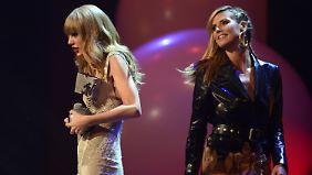 Taylor Swift schleppte Preise, Heidi Klum moderierte bei den MTV Europe Music Awards 2012.