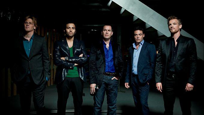 Rob, Tom, Willem, Bart, Matt: fünf Freunde, ein Loft und dutzende Geheimnisse.