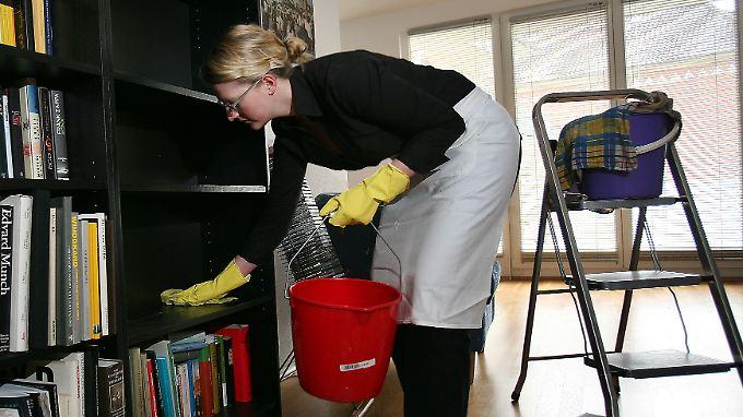 Putzen sollte nicht übertrieben werden.