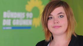 Die Landesvorsitzende der GAL in Hamburg, Katharina Fegebank.