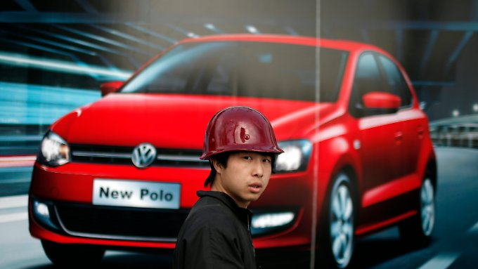 Chinas Automarkt wächst seit Jahren.