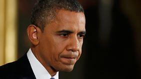 Angst vor der Fiskalklippe: Obama eröffnet Poker um US-Haushalt
