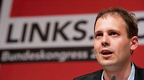 Kämpferisch oder zahm? Im Jahr 2012 sind die Jusos um ihren Vorsitzenden Sascha Vogt sicherlich nicht mehr so rebellisch wie in den 70ern.