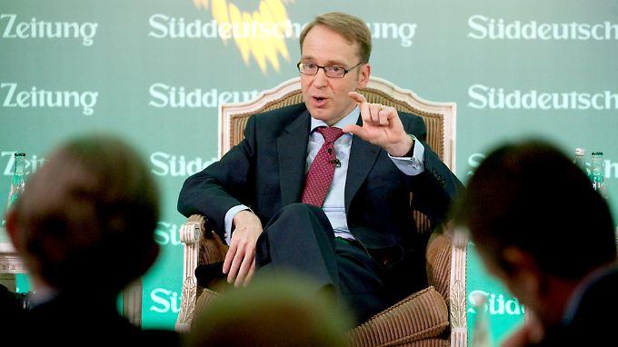 """Bundesbank-Präsident Weidmann hält sich beim Thema """"weiterer Schudldenschnitt für Griechenland"""" alle Optionen offen."""