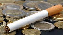 Rauchen ist ohnehin schon sehr teuer geworden und der Markt schrumpft.