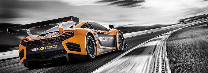 Die McLaren 12C GT Can-Am Edition ist auf 30 Einheiten begrenzt.