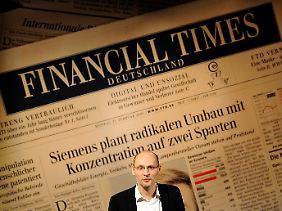 """Noch ist nichts entschieden: """"FTD""""-Chefredakteur Steffen Klusmann (Archivbild)."""