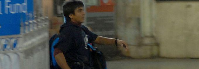 Kasab war der einzige lebendig gefasste Angreifer.