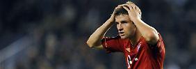 """""""Das war kein Spiel, wo wir uns feiern können"""": Thomas Müller."""