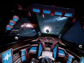 """Seit """"Wing Commander"""" hat sich auch im Cockpit grafisch etwas getan."""