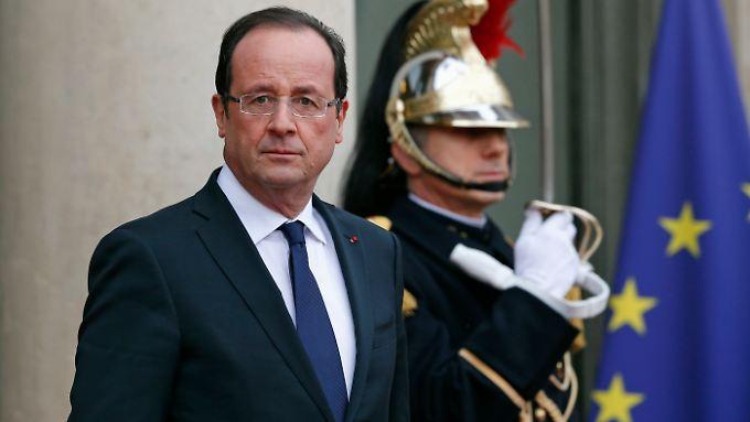 Hollande versprach im Wahlkampf, sich für die Homo-Ehe einzusetzen.