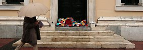 Die Krise prägt auch das Straßenbild in Athen.