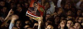 Die Ägypter fühlen sich von Mursi betrogen.