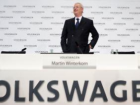 """""""Wir bei Volkswagen stehen zum Industriestandort Deutschland"""": Martin Winterkorn (Archivbild)."""
