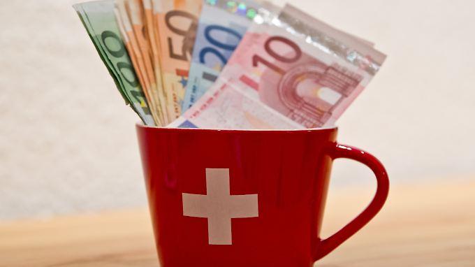 Die Schweizer Bankhäuser bemühen sich zunehmend um sauberes Geld.