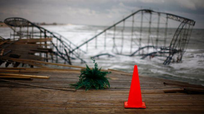 Sandy richtege gewaltige Schäden an.