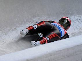 Anke Wischnewski erwischte von allen Rodlerinnen der besten Start in den Weltcup-Winter.