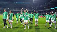 DFB-Pokal als Wohnzimmer: Bremen marschiert wieder ins Finale
