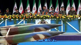 Nach eigenen Angaben besitzt das iranische Regime bereits Raketen, die Israel erreichen können.