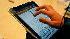 Apple zelebriert Marktstart: Ansturm auf das iPad