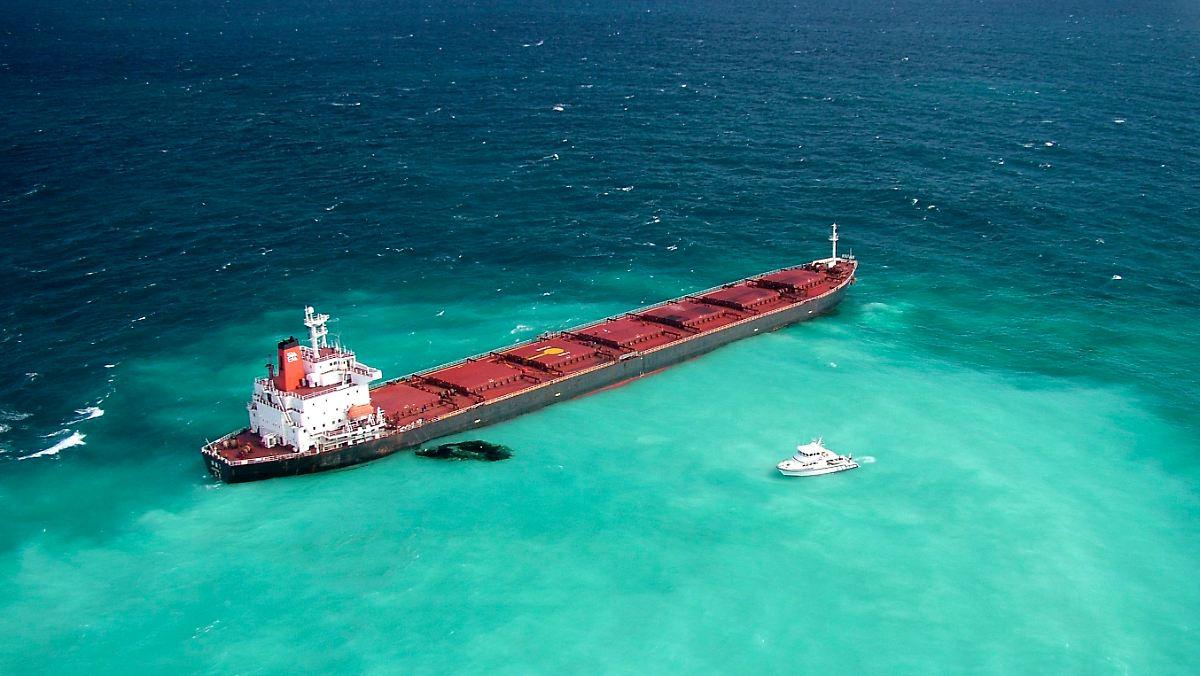 Tankerunglück am Great Barrier Reef: Australien kündigt