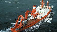 """Die """"FS Sonne"""" ist im Auftrag der Bundesanstalt für Geowissenschaften und Rohstoffe im Pazifik unterwegs."""